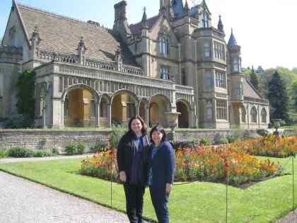 Cathy Gohlke & Carrie Turansky at Tyntesfield